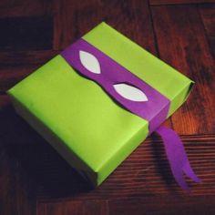 Tortues Ninja en emballage de cadeau original                                                                                                                                                      Plus
