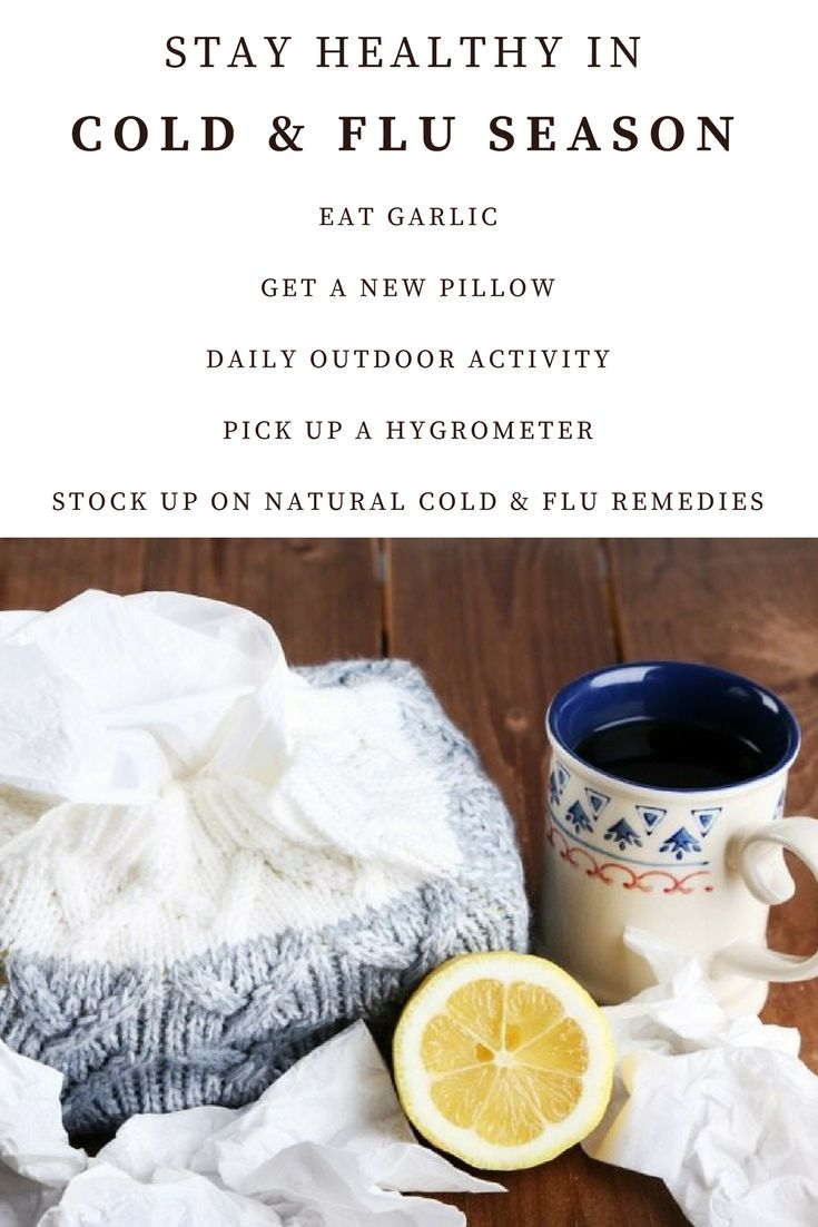 Natural ways to stay healthy in cold and flu season