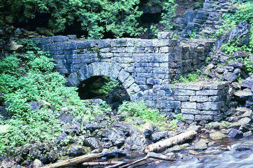 The Raceway arch Bruce Trail near Milton