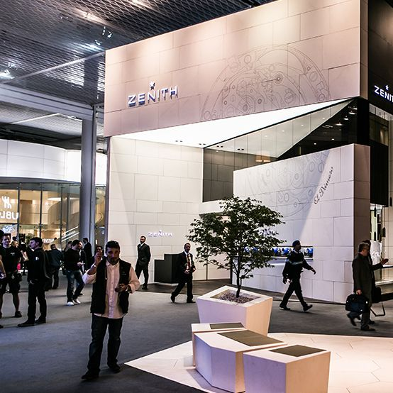 Zenith booth at Baselworld 2014