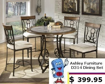 Ashley Furniture D314 Dining Room Set for only $399.95 at Mattress And Furniture Super Center in Tampa, FL