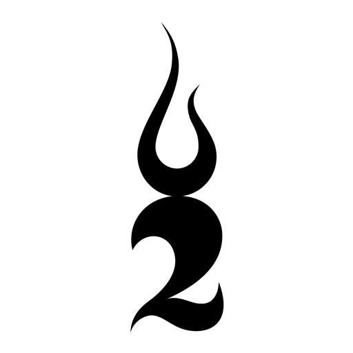 Two Steps From Hell. Will love them forever. Tattoo on inside right ankle. Design top tip of flame longer. Try to get flames closer together. Color and design as real flames.