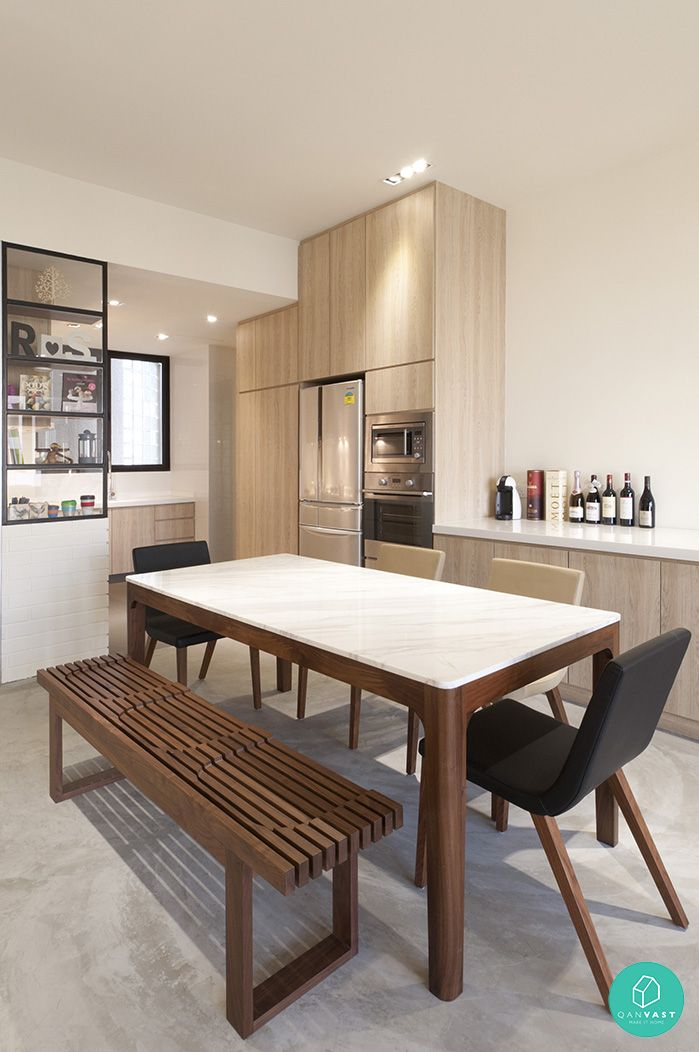 The Table Suits Us Check Electric Cabling Too Kitchen DesignsApartment IdeasFuture HouseMixed
