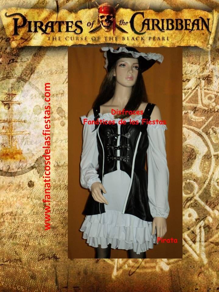 Disfraz de Pirata  Disponibles en tallas S y M Precio venta 30.000 pesos. www.fanaticosdelasfiestas.com