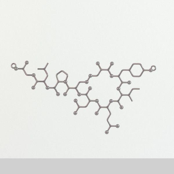 oxytocin molecule - Google Search