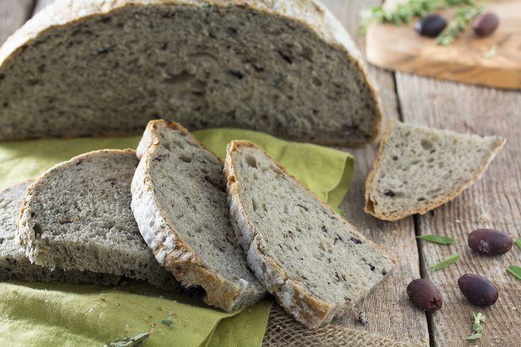 Greek Olive Bread