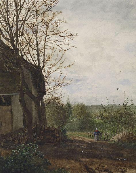 File:Léon Bonvin - Farm Building - Walters 371645 (2).jpg