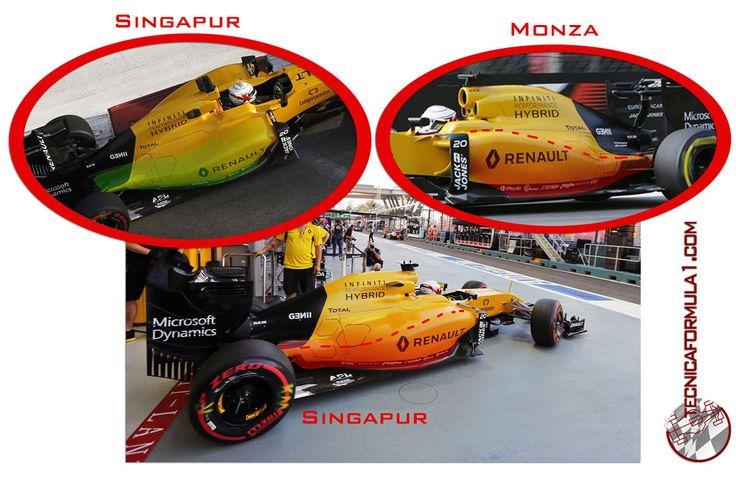 Análisis técnico del equipo Renault en los GPs de Singapur y Malasia  #F1 #MalaysiaGP