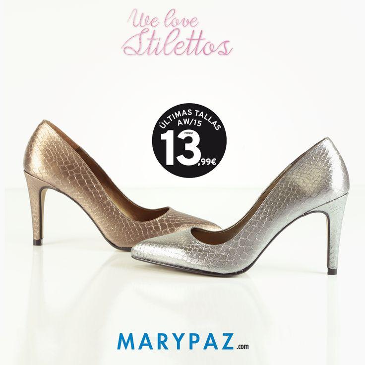 SHOPPING DAY : los salones más lady de MARYPAZ en sus versiones metalizadas oro y plata ¿ Con cuál te quedas ? Desde 13,99 € !!!   ►►► ÚLTIMAS TALLAS AW15 en TIENDA y ONLINE marypaz.com   SALÓN MATALIZADO ORO ► http://www.marypaz.com/tienda-online/salon-de-punta-fina-48585.html?sku=72541-35  SALÓN MATALIZADO PLATA ► http://www.marypaz.com/tienda-online/salon-de-punta-fina-48585.html?sku=72540-35