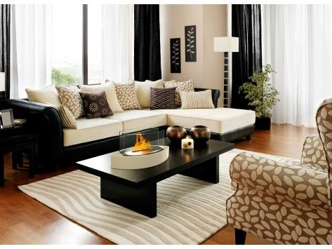 Anywhere Fireplace: Lexington Tabletop Contemporary Fireplace