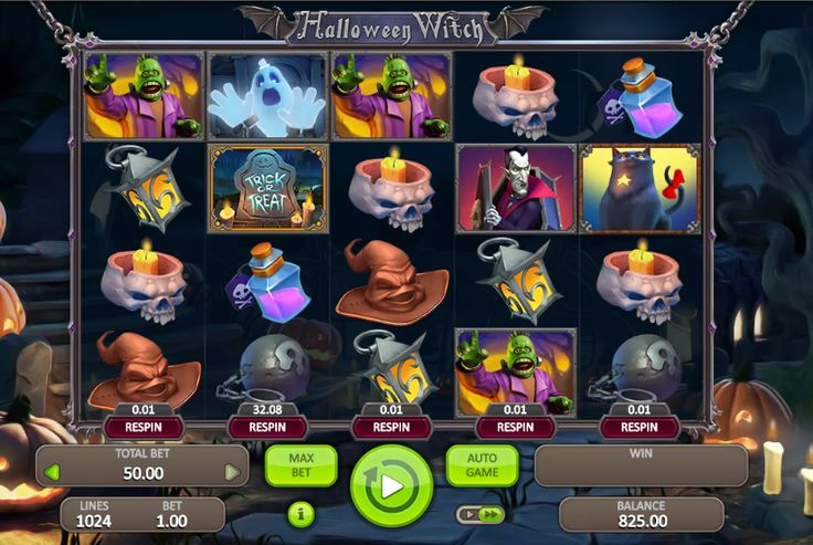 slot machine gratis halloween