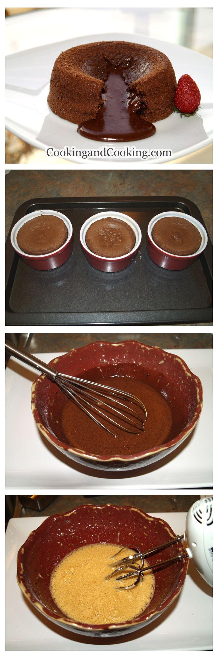 Molten Lava Cake Recipe