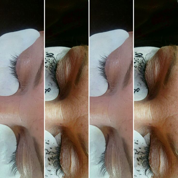 Lash extensions by Risa Jean