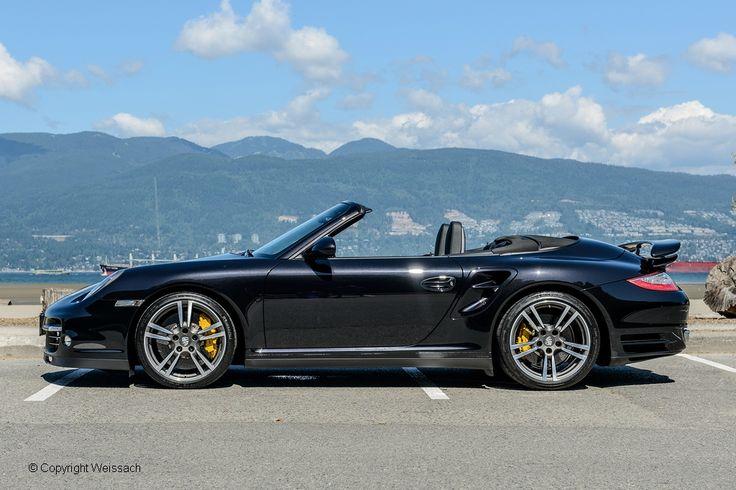 2012 Porsche 911 Turbo S Cabriolet 7-Speed PDK, Basalt Black Metallic with Black Full Leather, 3.8 L, GT, 530 bhp, 7-Speed PDK. www.weissach.com