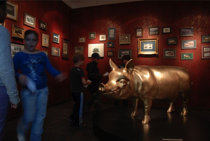 #Schweinemuseum. Learn all you will ever need to know (and more) about #pigs as you wander through the rooms of this old slaughterhouse. #travel #museum #stuttgart #germany #parkinn