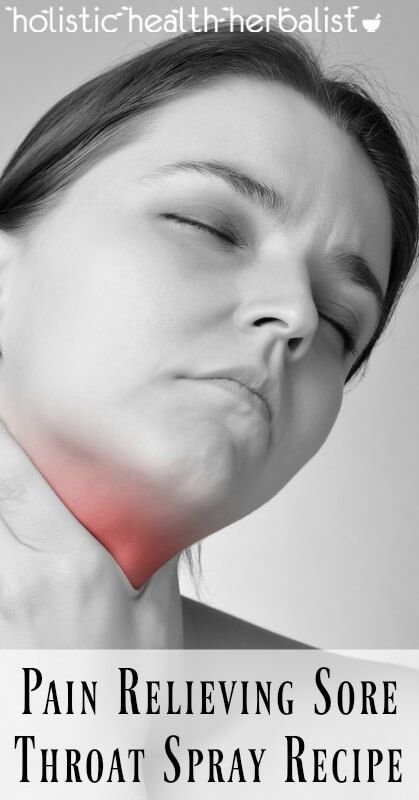 Pain Relieving Sore Throat Spray Recipe - Learn how to make an effective sore throat spray that fights infection, reduces inflammation, and soothes pain.