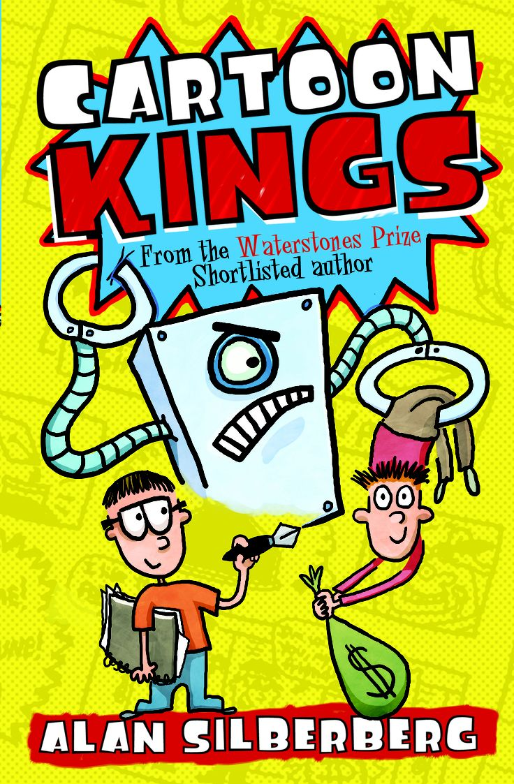 Cartoon Kings, by Alan Silberberg    Publishing 4th July, £6.99 PB