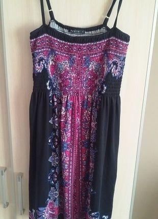 Kup mój przedmiot na #vintedpl http://www.vinted.pl/damska-odziez/krotkie-sukienki/12524690-sukienka-czarno-rozowa-z-orientalnym-wzorem