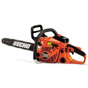 Echo CS-370Specs:  Echo CS-370                                                                                          cc: 36.3  weight: 10 lb.  bar: 18 in. decibels: 99 price: $279