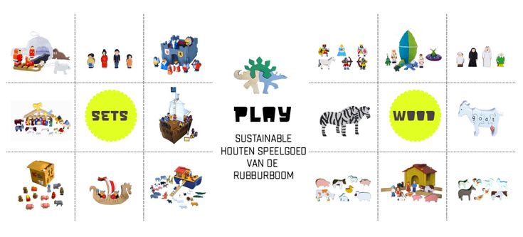 ★ P L A Y  |  kinderwinkel-online.nl | wooden playsets from the rubbertree