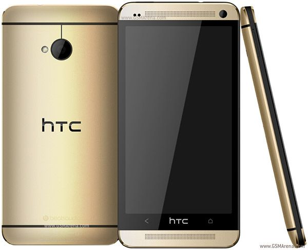 HTC One M7 Gold Ed.
