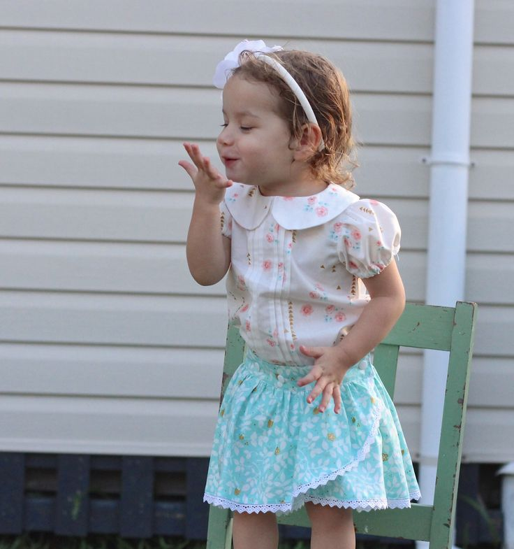 Girls Pleatie Playsuit & Tulip Skirt. #moocuzzi #handmade #babygirlsclothes www.moocuzzi.com.au