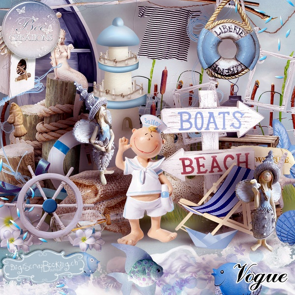 *** NEW **  Voque by Bee Création  http://www.digiscrapbooking.ch/shop/index.php?main_page=product_info=22_43_id=11091