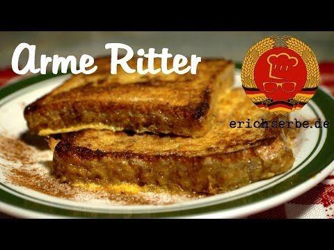 Arme Ritter (von: erichserbe.de) - Essen in der DDR: Koch- und Backrezepte für ostdeutsche Gerichte | Erichs kulinarisches Erbe