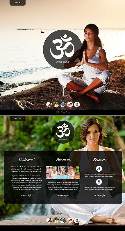 Yoga Website Template #sport http://www.templatemonster.com/website-templates/41507.html?utm_source=pinterest&utm_medium=timeline&utm_campaign=yoga