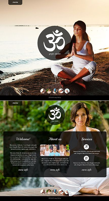 Website Template #webdesign