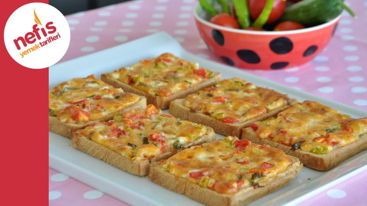Şimdi Çıktı Fırından - Kahvaltılık Peynirli Kızarmış Ekmek - YouTube