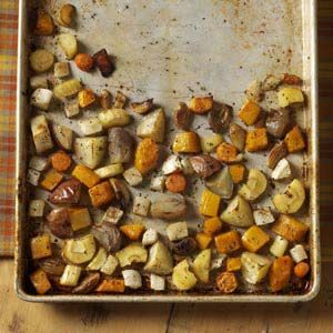 Roasted Winter Vegetables Recipe from Taste of Home -- shared by Donna Lamano of Olathe, Kansas
