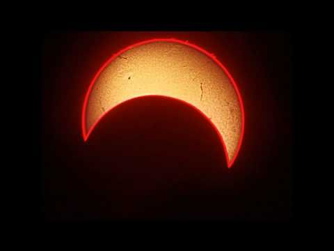 Time-Lapse of the Annular Solar Eclipse