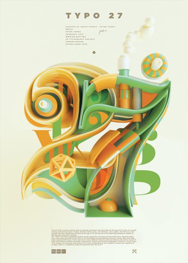 Typography 09. on Behance