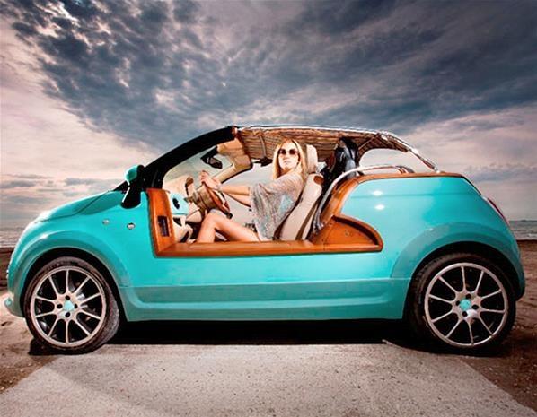 One Off Fiat 500 Tender 2 Beach Buggy Pretty Fiat Pinterest
