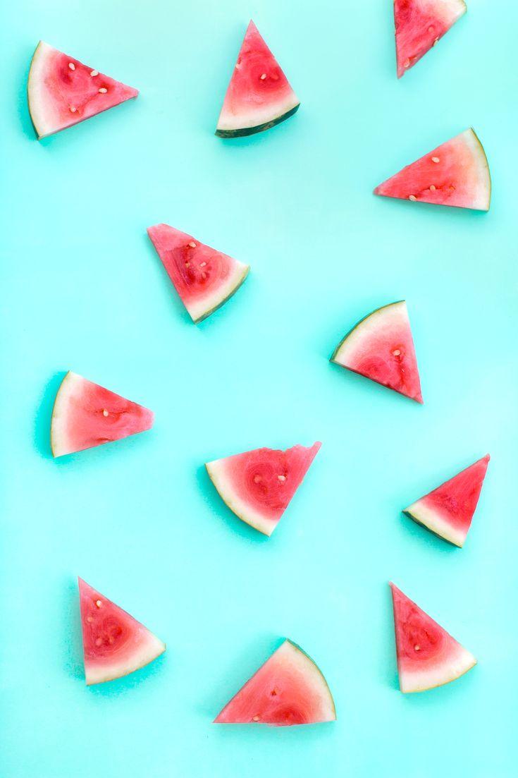 Watermelon summer cell phone wallpaper