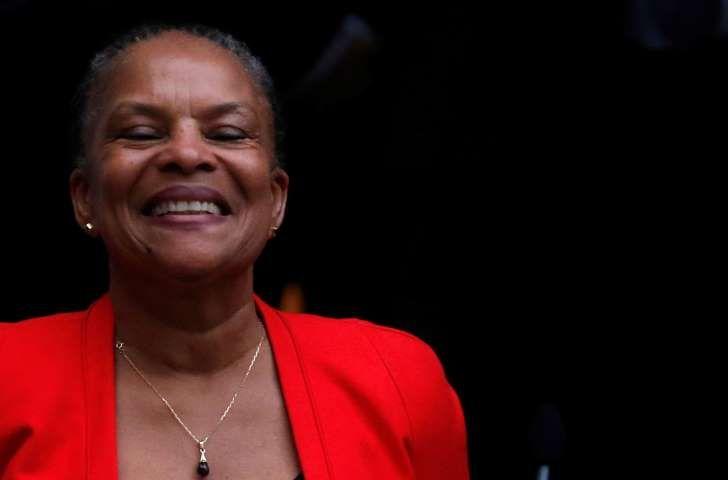 """Christiane Taubira évoque son """"douloureux apprentissage"""" de la politique"""