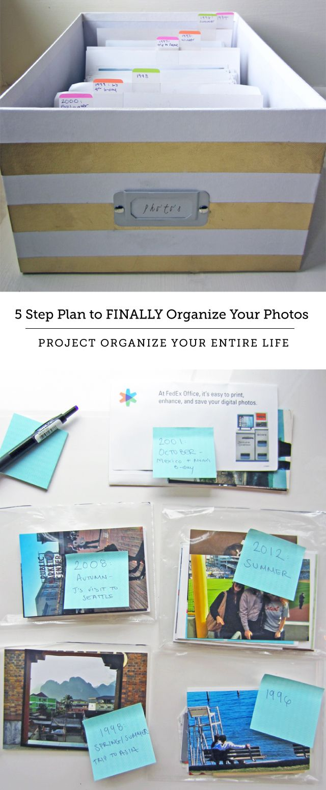 How to Organize your Photos like a professional organizer
