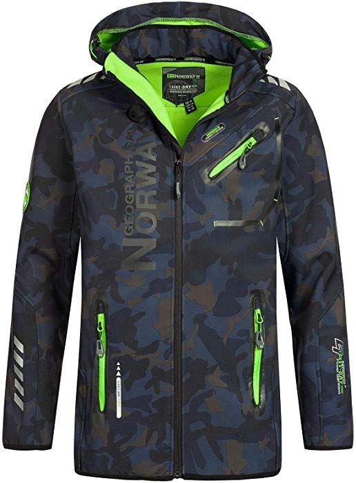 shepretty Herren Jacke Kapuzen Fr/ühling Herbst Windbreaker Camouflage Casual Zip-Hoodie Sportswear Laufjacke