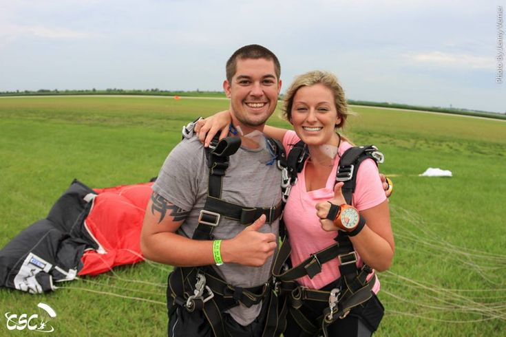 Image result for solo skydiving parachute landing