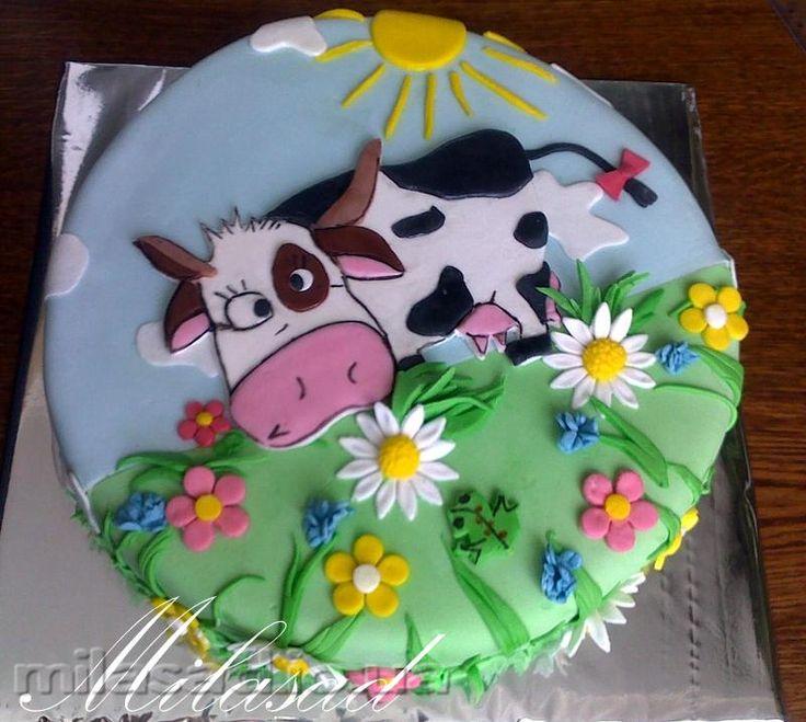 Торты с коровой свиньей