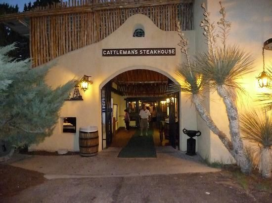Cattleman's Steakhouse at Indian Cliffs Ranch is about 40 miles east of El Paso, TX.  It was featured on Travel Channel's show Food Paradise as one of the best steakhouses in the US.