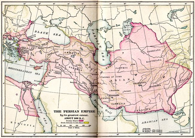 41 best images about Persian Empire Map on Pinterest   Persian ...