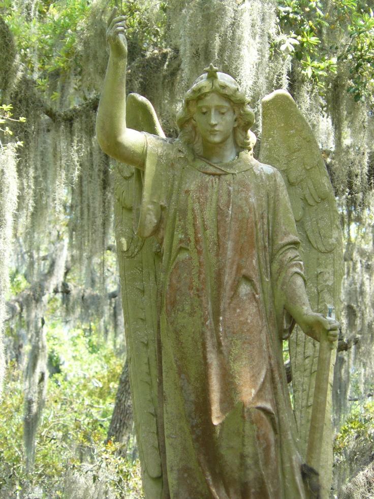 Bonaventure Cemetery, Savannah, Ga. If you've never been you should to go, it's beautiful.