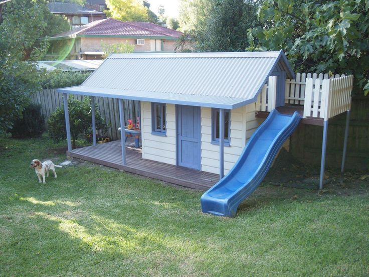 Cubby Central can offer this fantastic Slide Side Upgrade, available in three standard sizes. This is a very popular addition to our cubbies, let the fun begin!  Internal stairs leading to a platform housing with a removable panel to keep the wind and rain out.