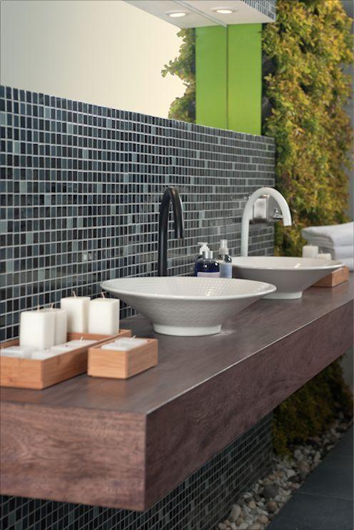 Griferia Para Baño Grival:Un lavamanos para ella y uno para él #baño #Corona inspira