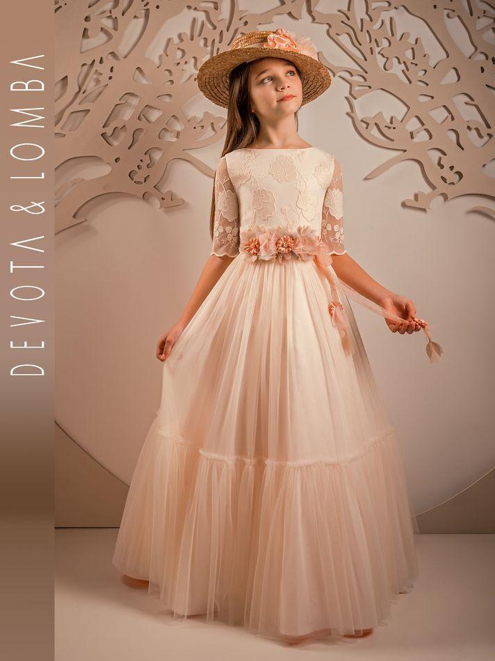 Vestidos De Comunión Marla 2020 Moda En Pasarela Vestidos De Comunión Vestidos Para Primera Comunion Vestidos Niñas Primera Comunion