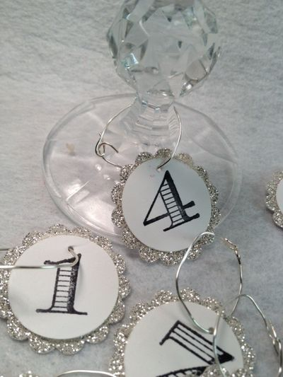 25 best DIY WINE CHARMS images on Pinterest | Wine charms ...