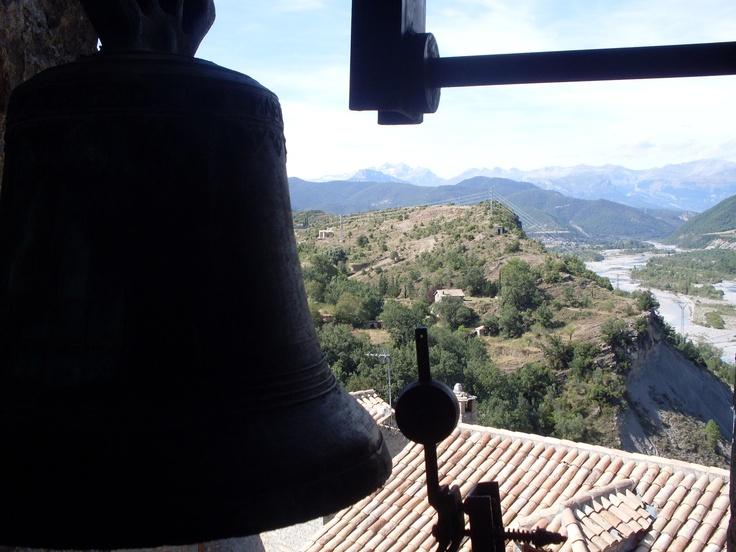 Desde el campanario. Ainsa, Huesca