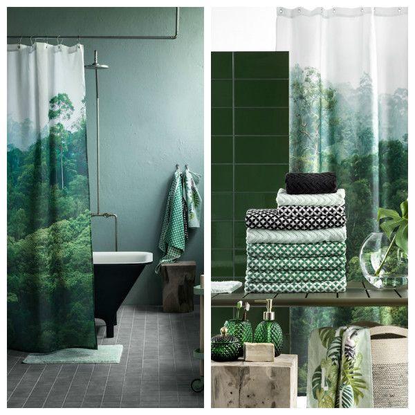 17 meilleures id es propos de rideaux de douche de salle de bains sur pinterest d coration. Black Bedroom Furniture Sets. Home Design Ideas